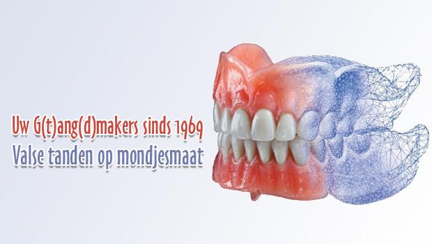 Uw G(t)ang(d)makers sinds 1969 Valse tanden op mondjesmaat